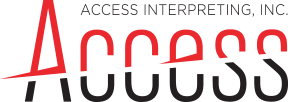 Access Interpreting Logo